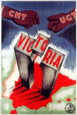 Affiche, 1937, Comité national CNT