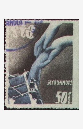 Timbre, 1937, SIA, Aide-nous