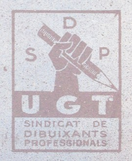 Logo, 1936, SDP UGT, Marque syndicale