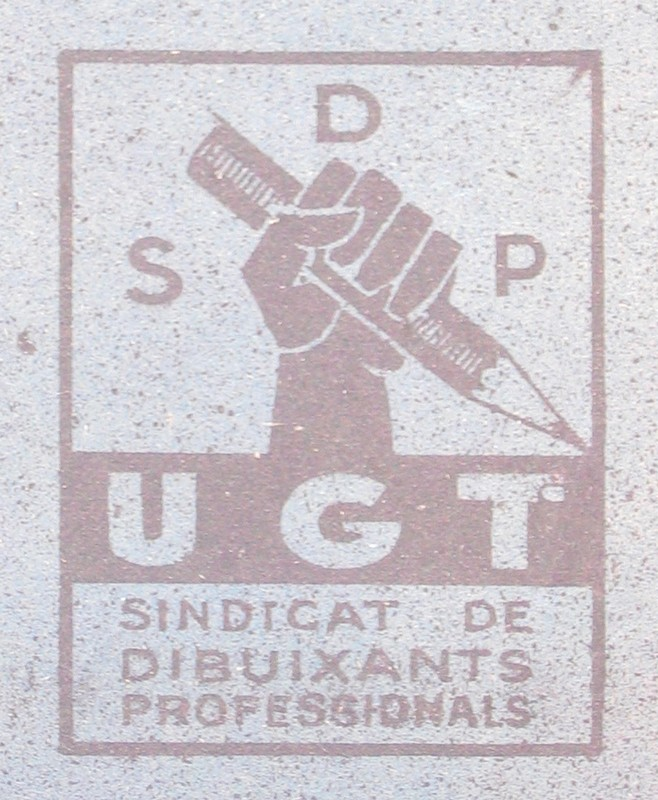 The SDP-UGT - The Posters of the Freedom Fighters - Spain 1936